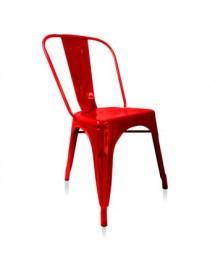 Silla Metálica Rojo Mod. JM-3315 - Envío Gratuito