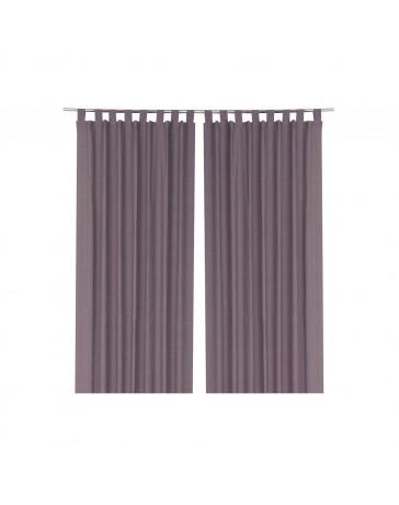 Cortina Decorativa Basia Purple 1.50X2.30 - Envío Gratuito