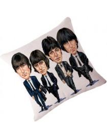 Estilo Del Retrato Estilo De La Casa Cojines Amor Almohadillas Beatles Impreso Coche Inicio Cojines M-10 - Envío Gratuito