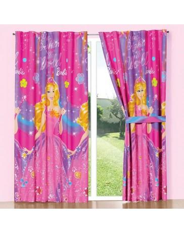 Cortina Decorativa Barbie Secret - Envío Gratuito