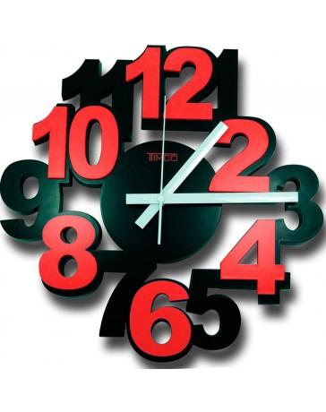 Reloj de Pared Timco, numero 3D LOC-RO - Envío Gratuito