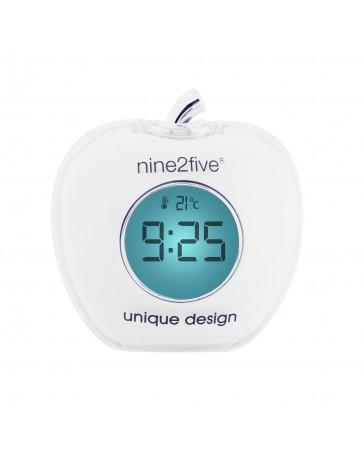 Reloj Despertador Nine To Five Clocks Dapp01Bl - Envío Gratuito