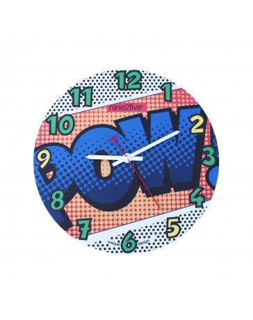 Reloj de Pared Nine To Five Clocks Pmll01Az - Envío Gratuito
