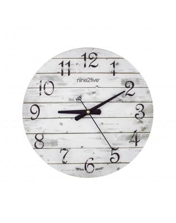 Reloj de Pared Nine To Five Clocks Pvge01Gr - Envío Gratuito