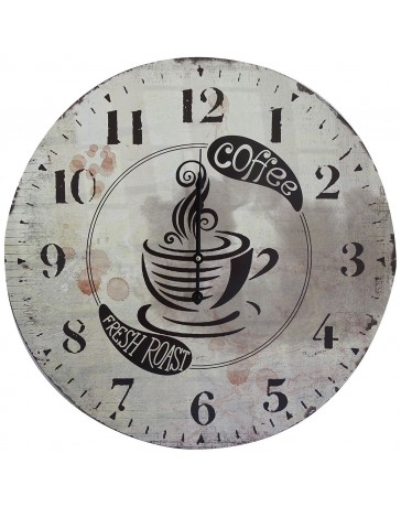 Reloj de Pared. Dimensiones 60 X 60 X 4.5 Cm. Peaktour - Envío Gratuito