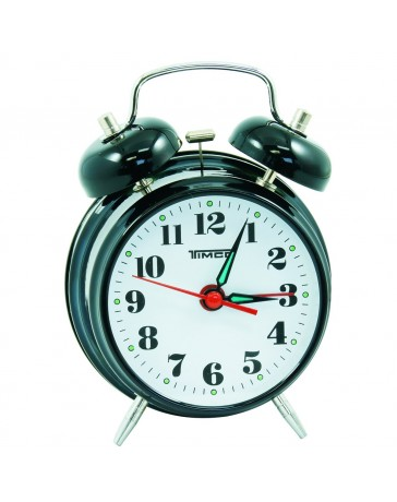 Reloj Despertador Timco Mod. Al8023N - Envío Gratuito
