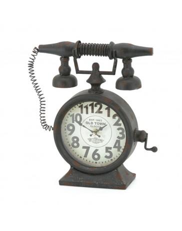 Reloj de Mesa Teléfono Negro 14Ad332-2K - Envío Gratuito