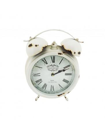 Reloj de Mesa Blanco París 14B594-1 - Envío Gratuito