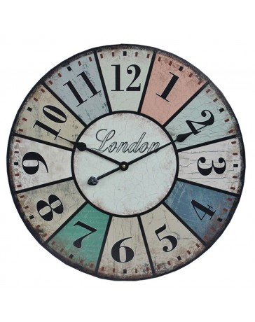 Reloj de Pared Deco London 60 Cm Lzq-009 - Envío Gratuito