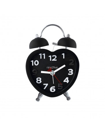 Reloj Despertador Nine To Five Clocks Dhrt01Ng - Envío Gratuito