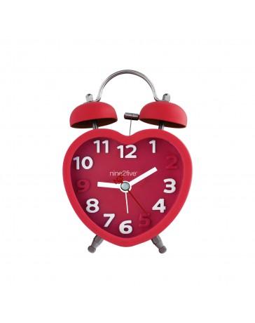 Reloj Despertador Nine To Five Clocks Dhrt01Rj - Envío Gratuito