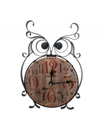Reloj de Mesa Búho Running - Envío Gratuito