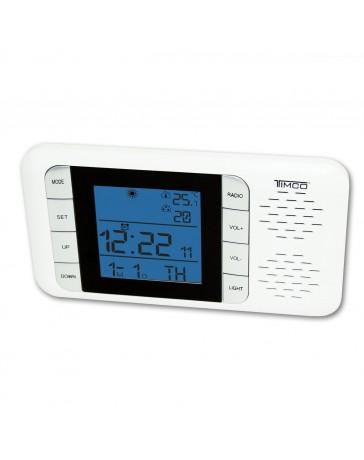 Reloj Despertador Timco Mod. Xg8107 - Envío Gratuito