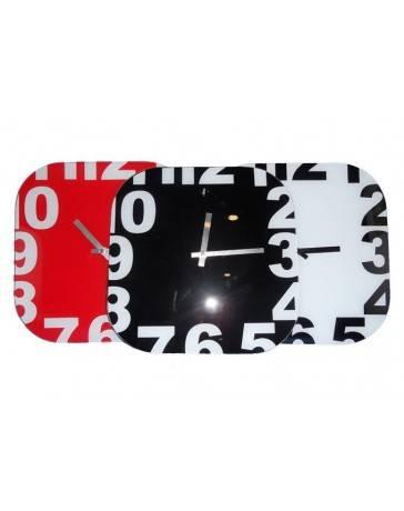 Reloj de Pared Vidrio 1642-29 - Envío Gratuito