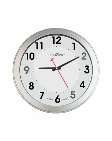 Reloj de Pared Nine To Five Clocks Plgt01Bl - Envío Gratuito
