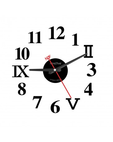 Reloj de Pared Nine To Five Clocks Pvyl01Ng - Envío Gratuito