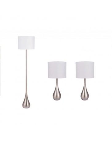 3-Pack: Dos Lámparas de Mesa Am376 y Lámpara de Piso Brite Lite - Envío Gratuito