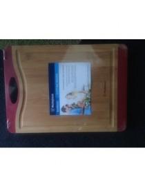 Tabla Para Picar De Bambu Grande - Envío Gratuito