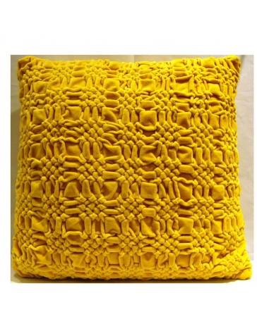 Cojín Decorativo Chinos 45X45 Mostaza - Envío Gratuito