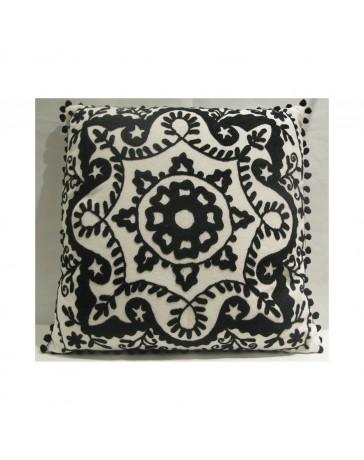 Cojín Decorativo Espiral 45X45 Multicolor - Envío Gratuito