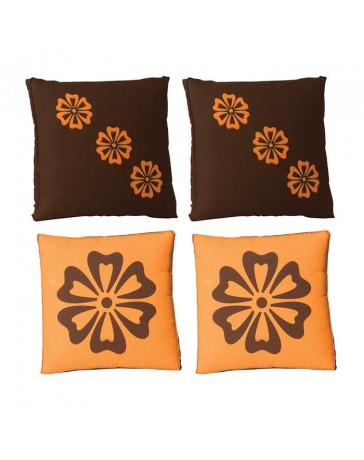Juego de De 4 Cojines Decorativos Tangerine - Envío Gratuito