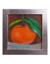 Cuadro Artesanal de Fruta Mandarina - Envío Gratuito