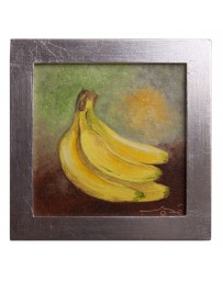 Cuadro Artesanal de Fruta Platano - Envío Gratuito