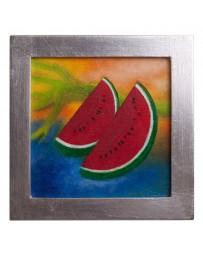 Cuadro Artesanal de Fruta Sandia - Envío Gratuito