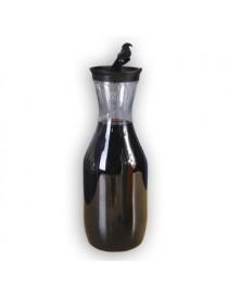Jarra Plastico Transparente Tapa Negra 1.6 L Good And Good - Envío Gratuito