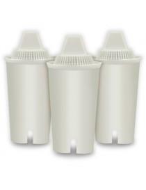 Filtro De Agua - Repuesto Con Compuesto De Carbono Balzano BZFC3PCS 3 Pzas - Envío Gratuito
