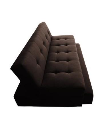 Sofá Cama Duplex Curry - Negro - Envío Gratuito
