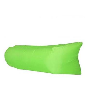 Ocio ocasionales de la playa que acampan yendo rápido inflable peces planos dormir Sofá cama de colchón de aire verde - Envío Gr