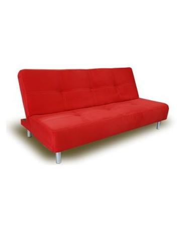 Sofacama Dreamy Futon 3 Posiciones-Rojo - Envío Gratuito