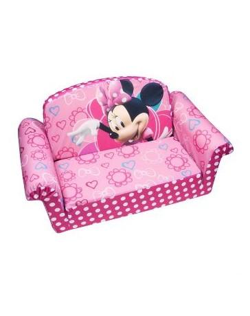 Sofa Cama Infantil Sillon Niña Minnie Mouse - Envío Gratuito
