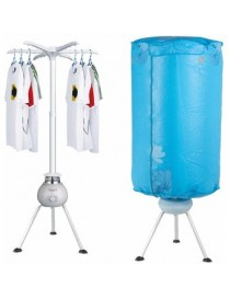 Secadora de Ropa Portátil Eléctrica Dry Tornado Stay Elite - Azul - Envío Gratuito