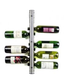 Cava Rack Porta Botellas De Vino Con Soporte A Pared - Envío Gratuito