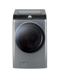 Lavasecadora Carga Fromtal 18kg de Lavado 10 kg de Secado DWDC-HP3620S1 Daewoo - Silver - Envío Gratuito