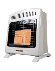 Calefactor de Ambiente Heat Wave HG3W Gas LP 3 Radiantes-Marfil - Envío Gratuito