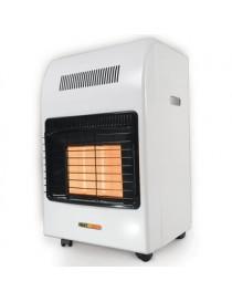 Calefactor de Ambiente Heat Wave HG3X-T Gas LP 3 Radiantes – Blanco - Envío Gratuito