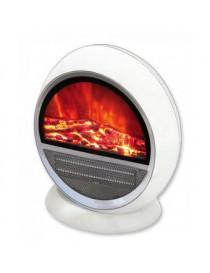 Calentador eléctrico Oval Decor Living blanco - Envío Gratuito
