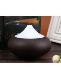 Humidificador de aire Ultrasonic Aroma Diffuser -marrón oscuro EU PLUG - Envío Gratuito