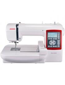 Maquina Bordadora Janome Memory Craft 230E + 1000 diseños de bordado de regalo -Blanco - Envío Gratuito