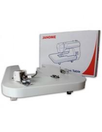 Mesa de Extension + Aditamentos de Quilting para maquinas mecanicas Janome-Blanco - Envío Gratuito