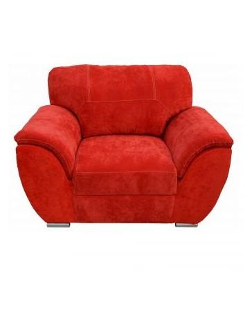 Sillon Moderno Pekin Fabou Muebles - Rojo - Envío Gratuito