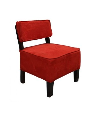 Sillon Naia De Fabou - Rojo, Moderno - Envío Gratuito