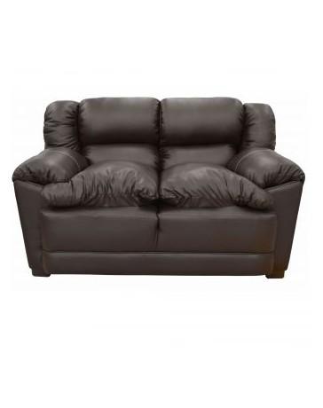 Love Seat Moderno Bom Fabuebles Chocolate - Envío Gratuito