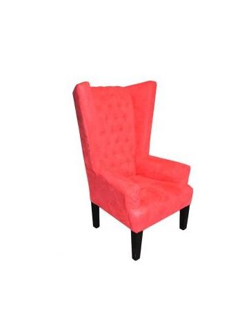 Sillón Vintage Individual Oregon Rojo - Envío Gratuito