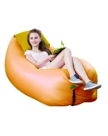 Sillon Inflable Sofa Lay Portatil Cama Playa Camping - Envío Gratuito