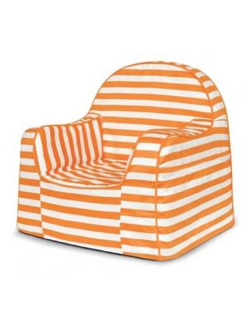 PKFFLROS Sillon de rayas-Naranja - Envío Gratuito