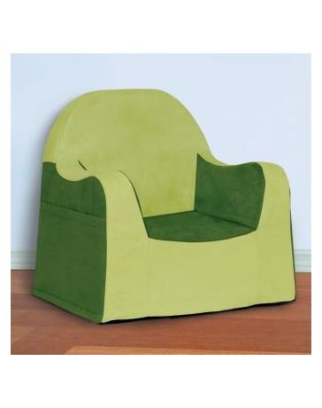 Sillón infantil de lectura de P´kolino color verde - Envío Gratuito